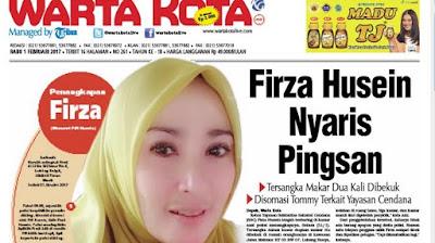 Firza Husein Saat Ini Menderita Sakit Jantung Koroner dan Penyempitan Pembuluh Darah