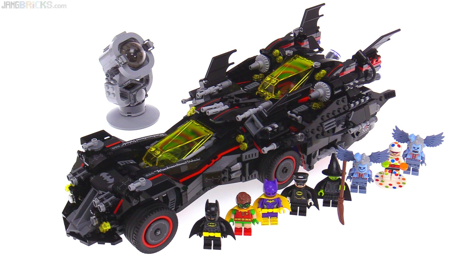 LEGO Batman Movie Ultimate Batmobile build & review videos ...