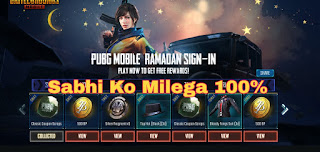 pubg mobile new update free gun skin