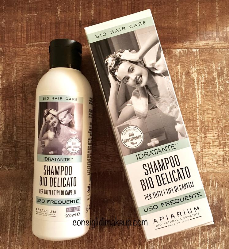 shampoo bio delicato apiarium recensione