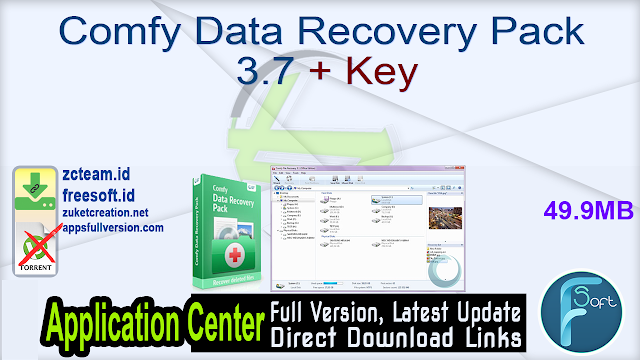 Comfy Data Recovery Pack 3.7 + Key_ ZcTeam.id