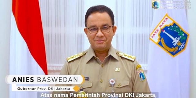 Tegas, Anies Pastikan Jakarta Tidak Lockdown