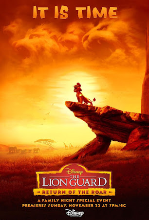 Poster Of The Lion Guard: Return of the Roar 2015 In Hindi Bluray 720P Free Download