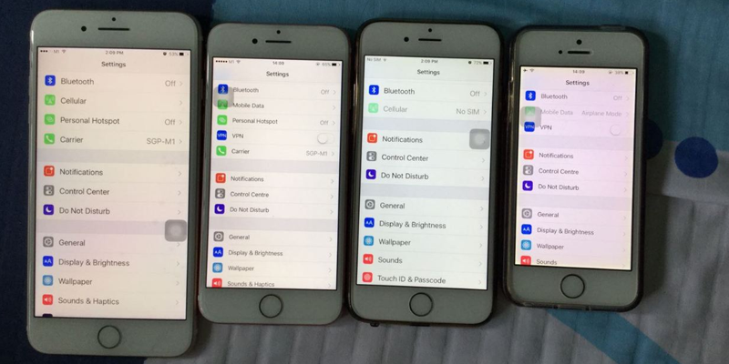 Fix iPhone 7 Yellow Screen