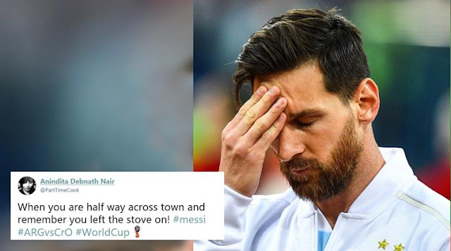 Argentina vs. Croatia final score, recap: Messi and company destroyed, on brink of elimination