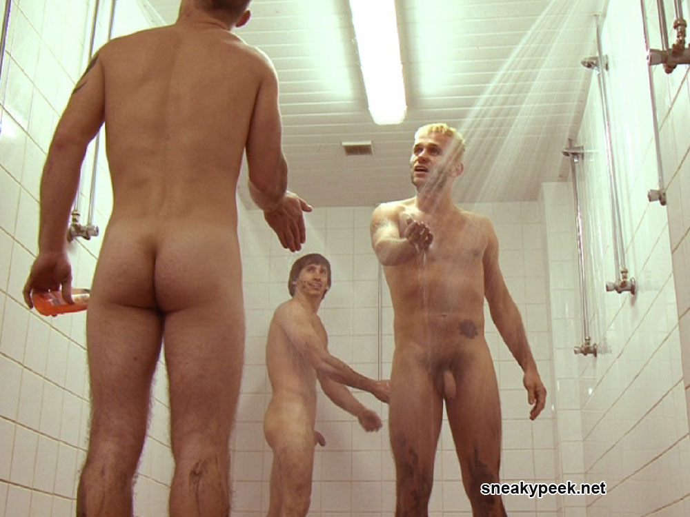 Pictures naked men showers #14
