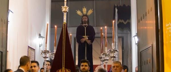 Horario e Itinerario Via Crucis de La Hermandad del Dulce Nombre de Bellavista de Sevilla