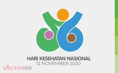 HKN (Hari Kesehatan Nasional) 2020 Logo - Download Vector File CDR (CorelDraw)