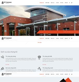 Giao diện Công ty tư nhân - Theme Blotspot - Blogspotdep.com
