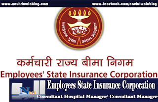 Consultant Hospital Manager/ Consultant Manager Job 2016