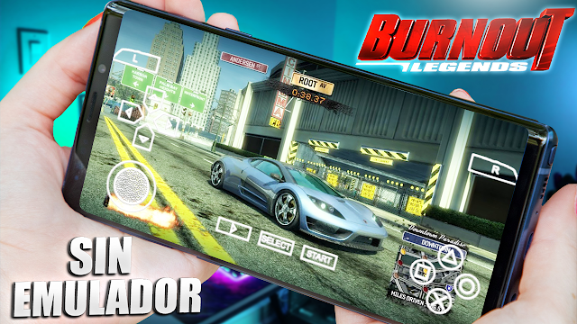 Burnout Legends Sin Emulador Para Teléfonos Android (Apk + Datos)