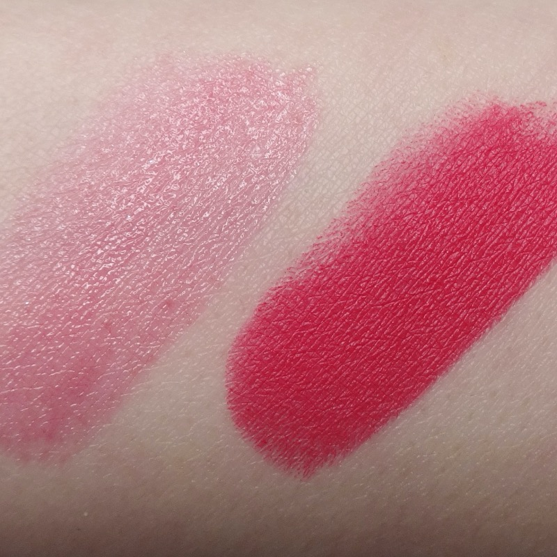 MAC Black Cherry Collection lip swatches
