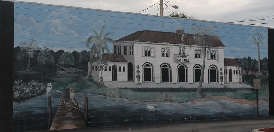 Mural en Lake Wales