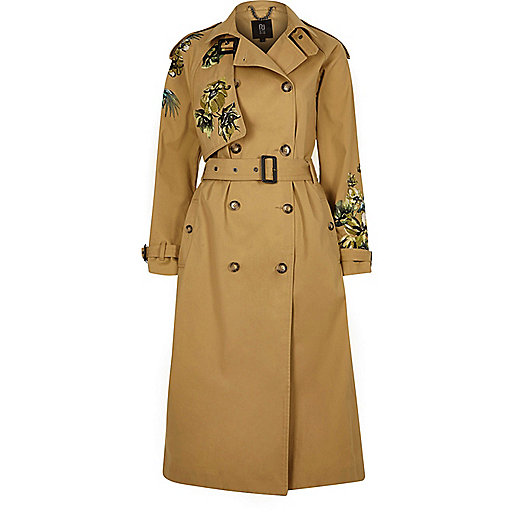 STATEMENT TRENCH COAT FROM RIVER ISLAND SUMMER SALE