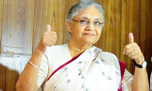 शीला दीक्षित होंगी यूपी विधानसभा चुनाव की मुख्यमंत्री उम्मीदवार