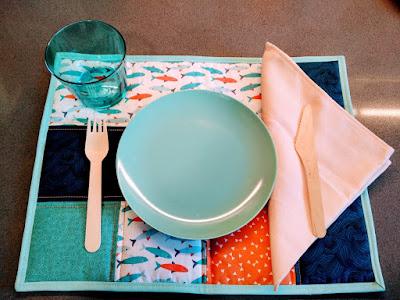 mantel individual, mug rug, individual tablecloth