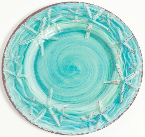 Coastal & Nautical Melamine Plates & Dinnerware for
