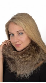 real fur neck warmers