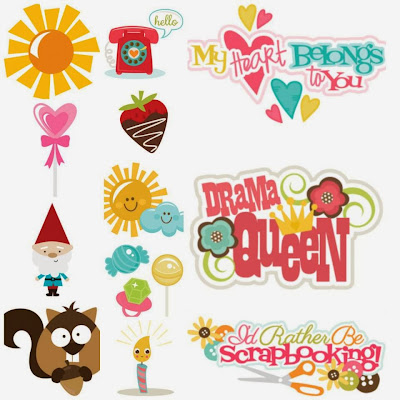 Special Launch Day cut file set from Miss Kate Cuttables