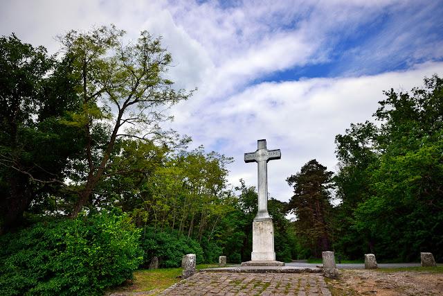 Croix du Calvaire, forêt de Fontainebleau