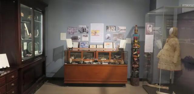 Resurrection Bay Historical Society Museum in Seward, Alaska