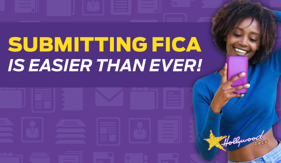 Submitting FICA documents is easier than ever with Hollywoodbets new FICA Self-Service Website