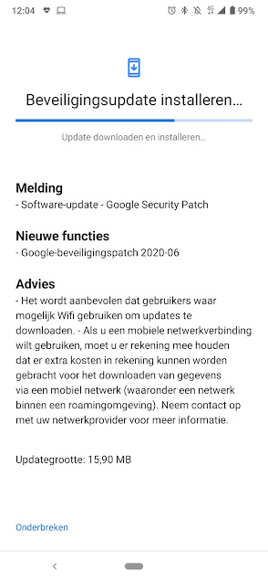 Nokia 6.2 receiving June 2020 Android Security Patch
