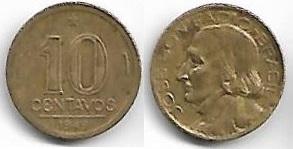 10 centavos, 1949