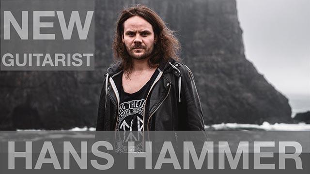 Hans Hammer: new guitarist of Týr