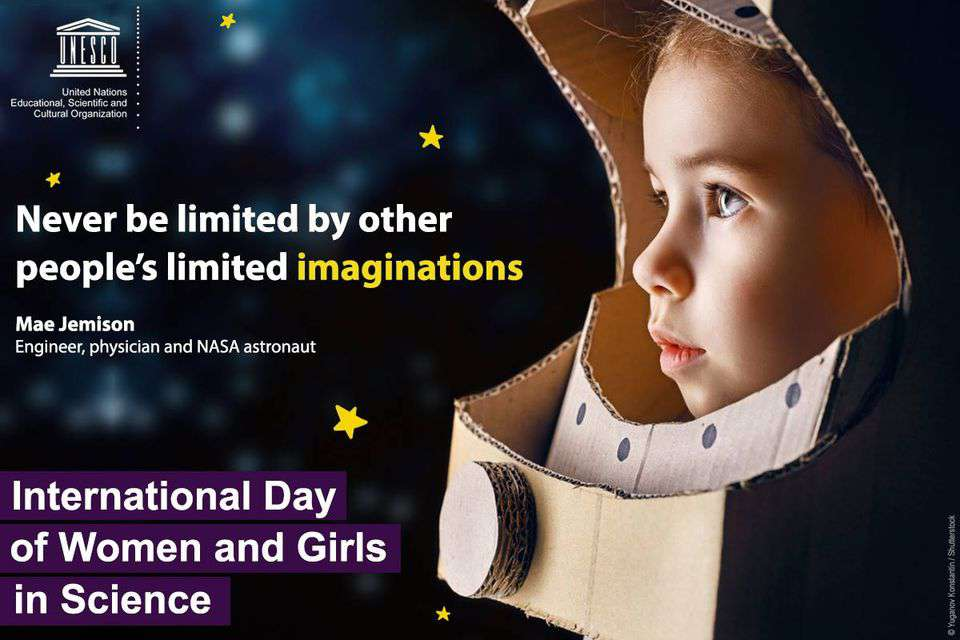 International Day of Women and Girls in Science Wishes Pics