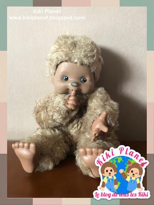 tiemi kiki monchhichi vintage plushie monkey rare