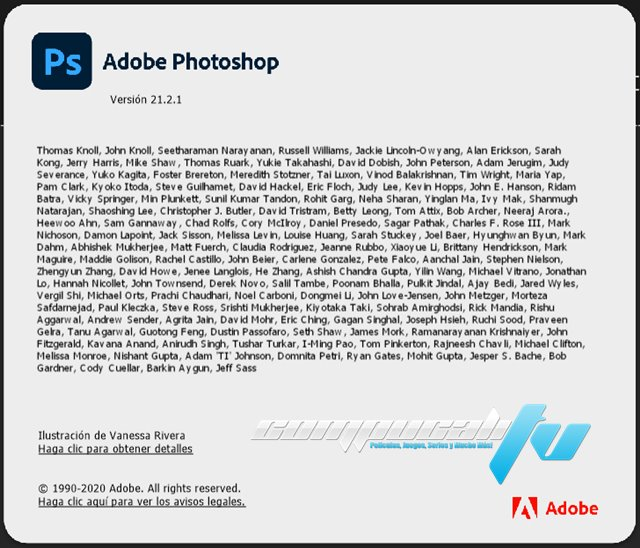 Adobe Photoshop CC 2021 Versión Full