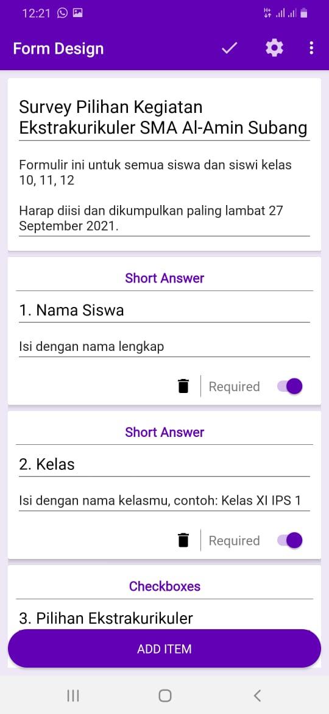 Cara Membuat Google Form Di Hp Android Contoh Prakteknya Pakar Dokumen