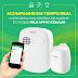 Kit Central de Alarme ANM 24 NET Intelbras Controlada Via Smartphone + Módulo de Choque XEL 5001