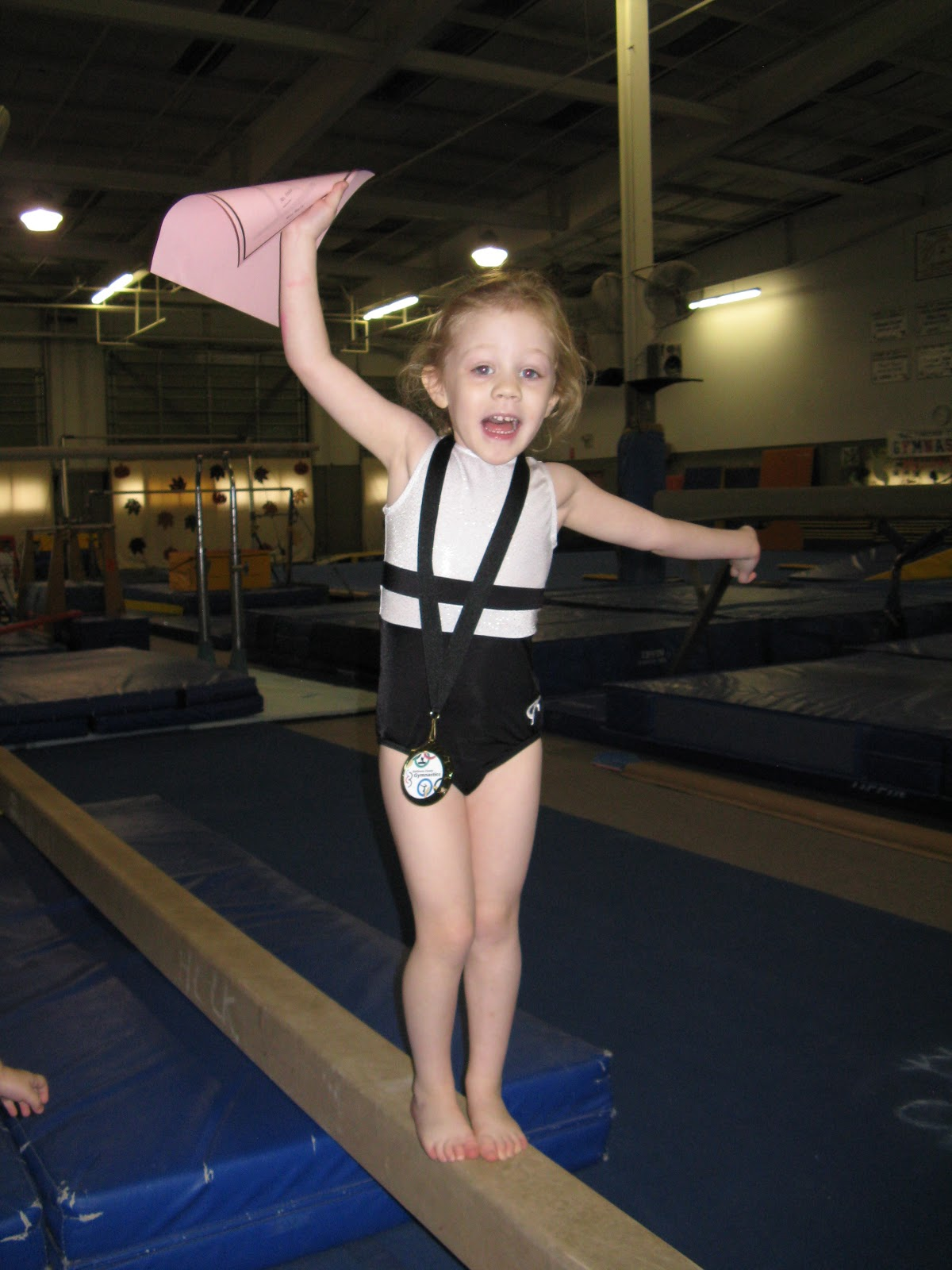 The Saxtons Our Little Gymnast