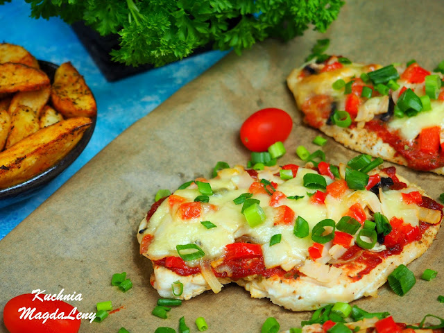 Kurczak a'la pizza
