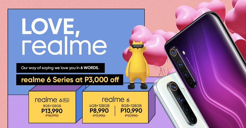realme 6 Series now comes with new price, starts at ₱8,990