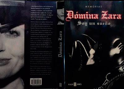 Libro Memorias Dómina Zara: Soy un Sueño