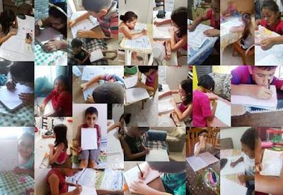 Atividades remotas para os alunos da rede Pública municipal em período de quarentena