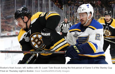 Bruins' Cassidy- Officiating a 'bruised eye' for NHL