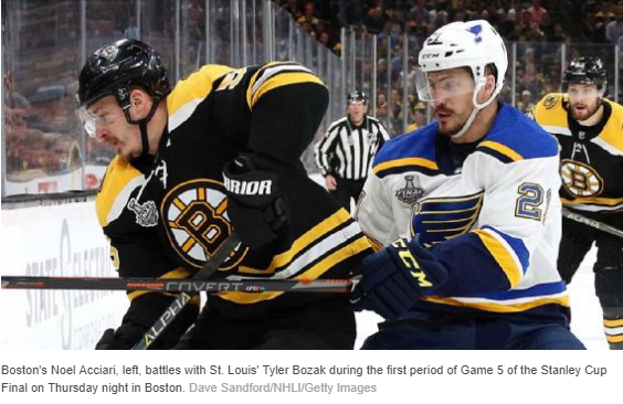 Bruins' Cassidy: Officiating a 'bruised eye' for NHL