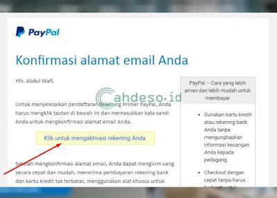 Konfirmasi Alamat E-mail