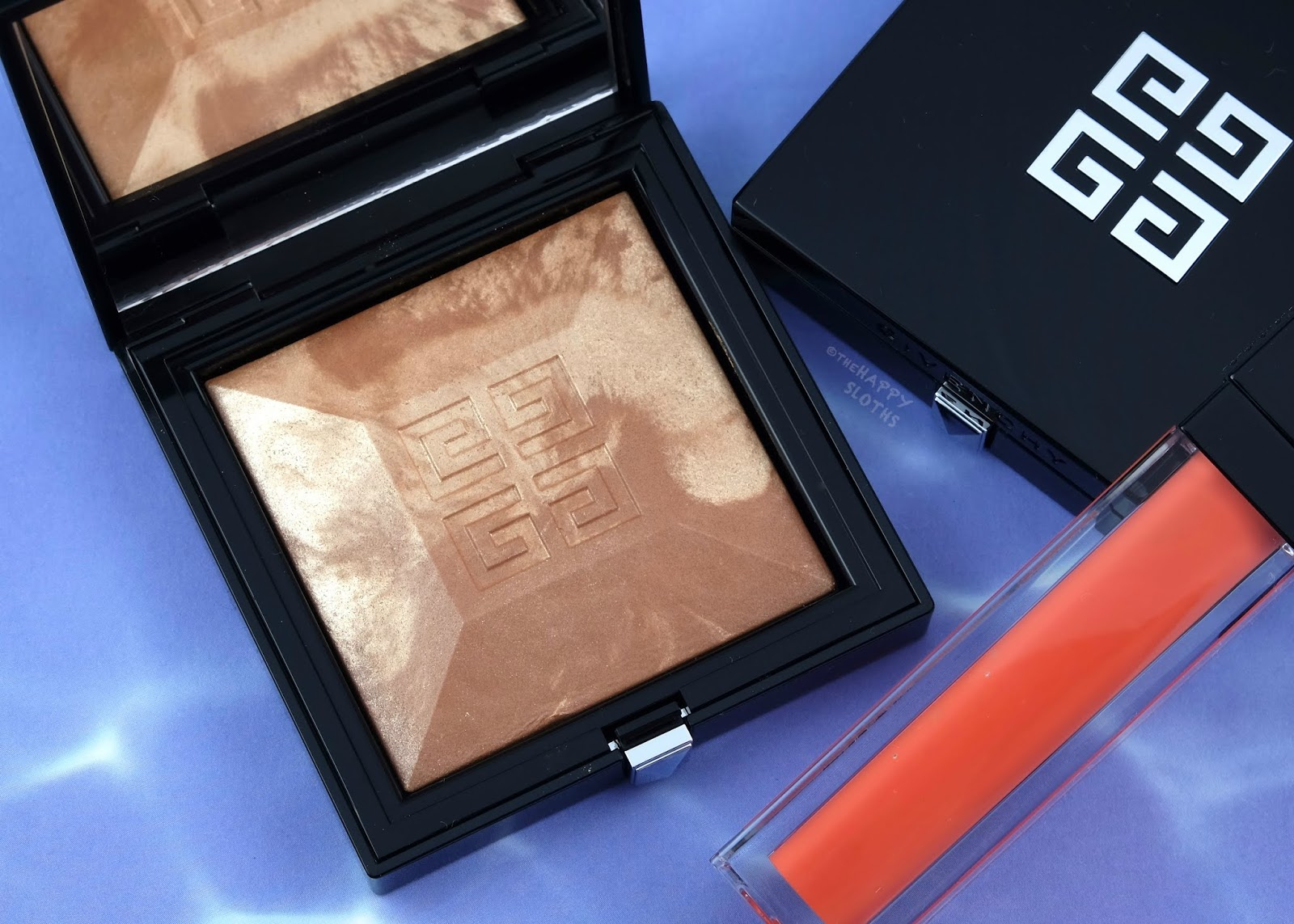 "Givenchy | Summer 2019 Solar Pulse Collection Healthy Glow Powder Marbled Edition in ""4.5 Naturel Doré"": Review and Swatches"