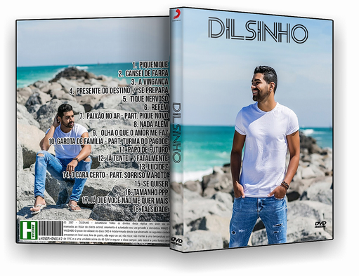 DVD – Dilsinho 2017 – ISO