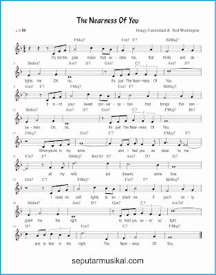 the nearness of you lagu jazz standar