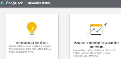 fitur keyword planner