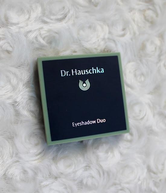 Dr. Hauschka Eyeshadow Duo 08 - paletka cieni do powiek