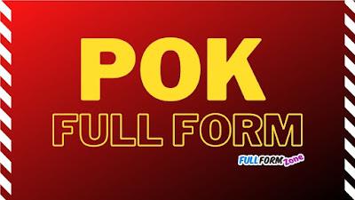 POK Full Form