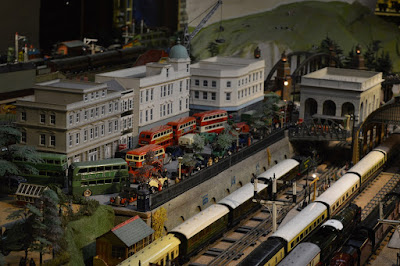Brighton Toy and Model Museum Running Day, Hornby, Marklin, Bassett-Lowke, Minic, Tri-Ang, Buses, Hotel, Traffic, Trains
