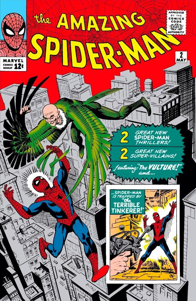 Fanfic - Homem-Aranha - O Último Voo do Abutre